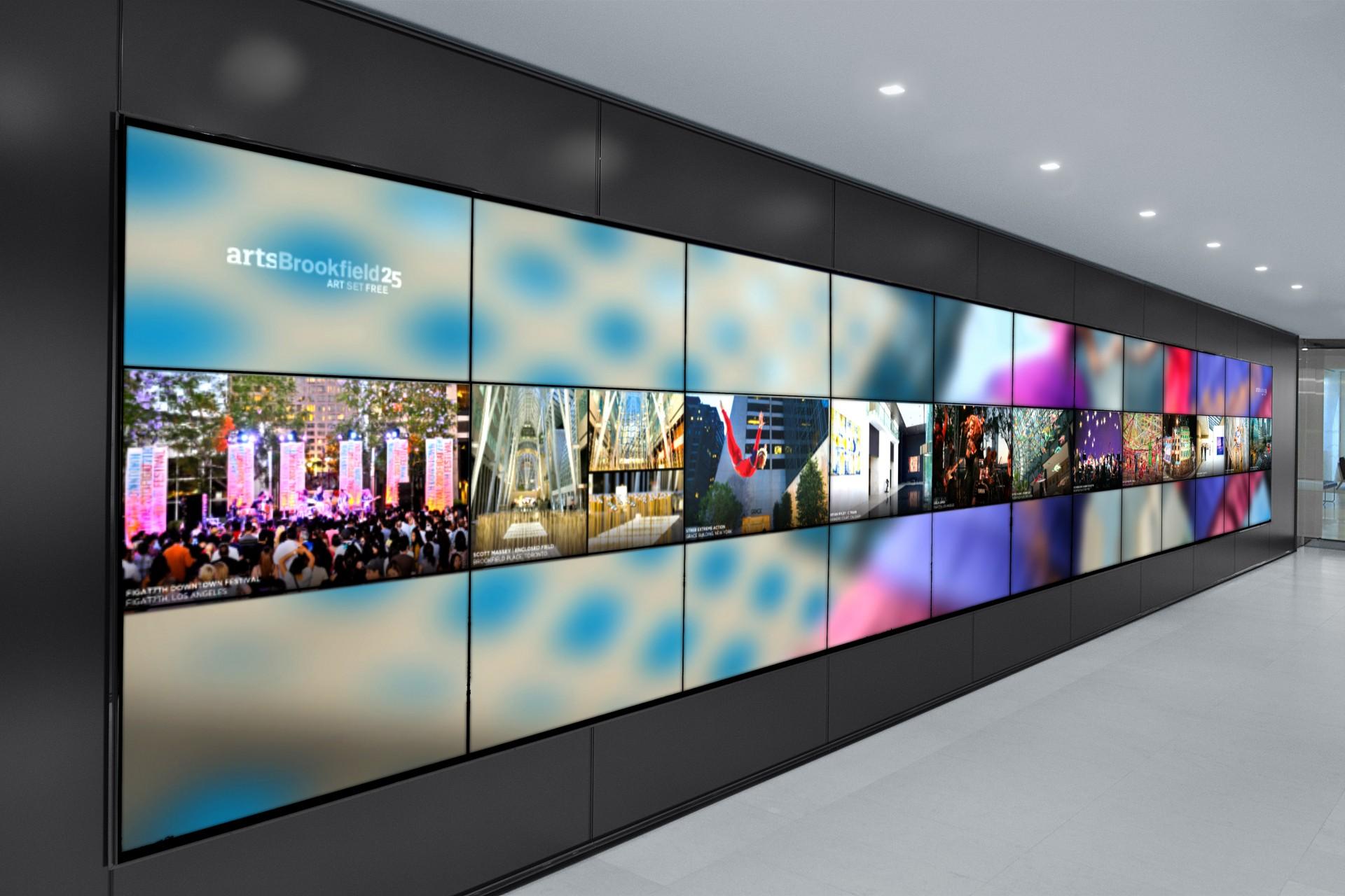 Beautiful Videowall