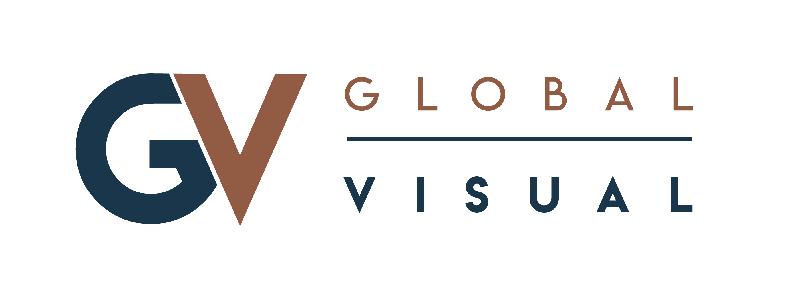 global visual wide logo